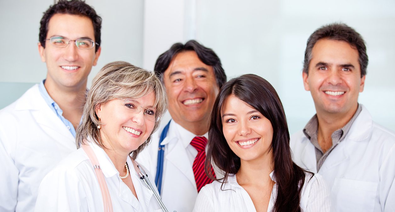 Team of doctors at American Care Medical Centers.