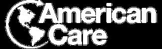 American Care logo in white.